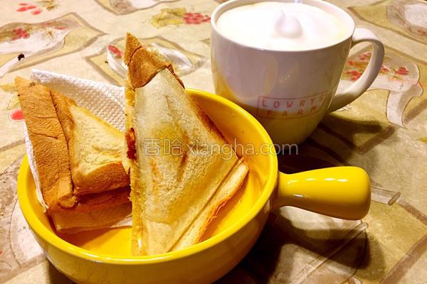 元气三明治早餐的做法