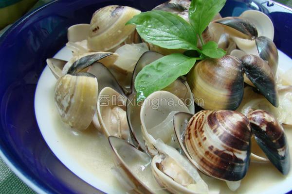 白酒蛤蜊的做法