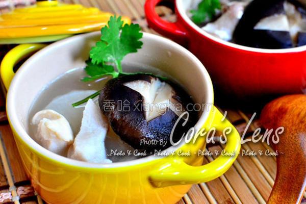 生香菇萝卜猪肚汤的做法
