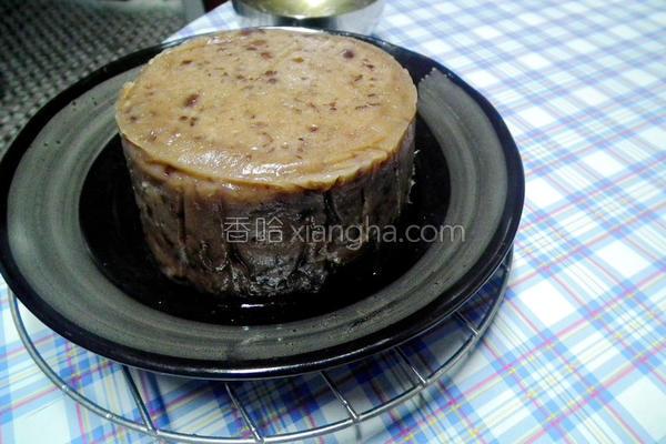红豆年糕的做法