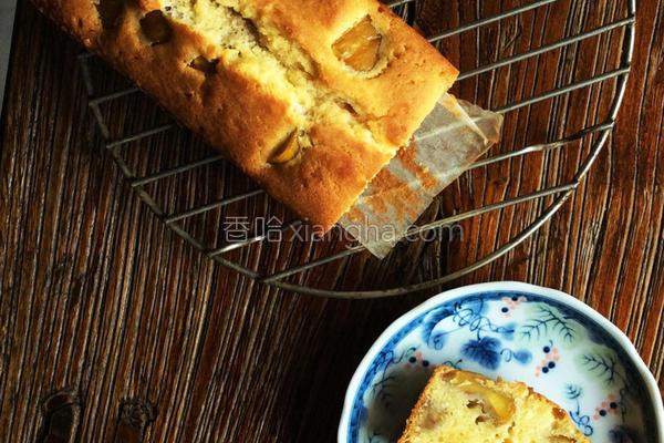 栗子磅蛋糕的做法