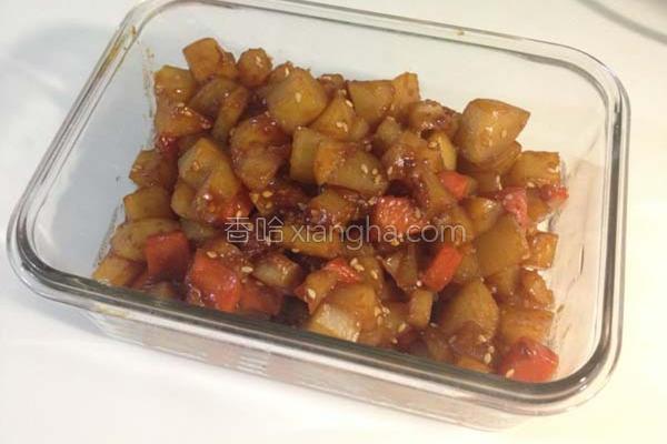 韩式马铃薯小菜的做法