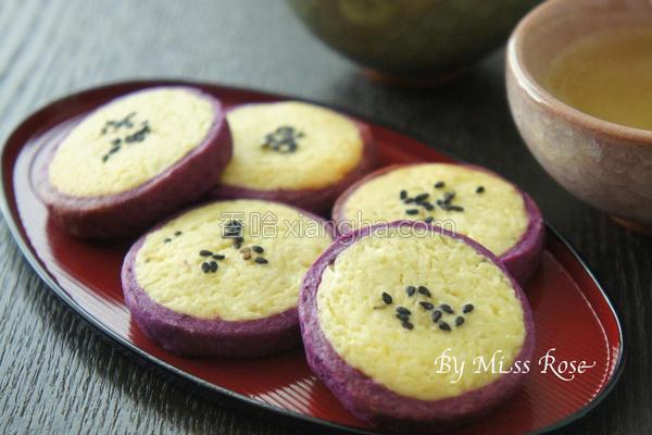 日式番薯饼干的做法