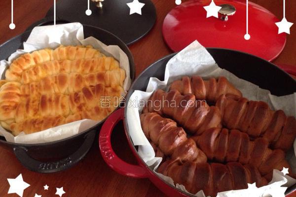 巧克力面包的做法