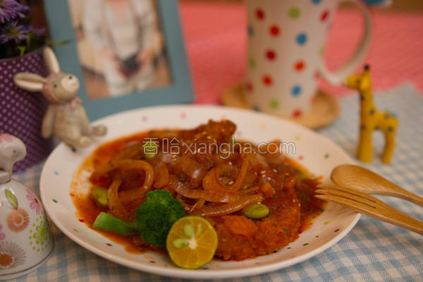 茄汁猪排的做法