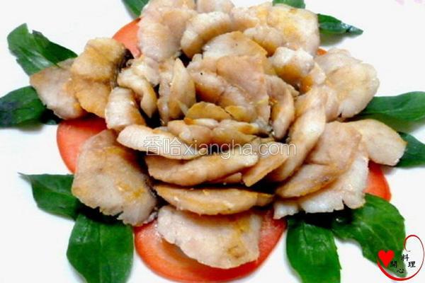 干煎牡丹鱼片