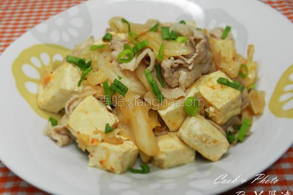 泡菜臭豆腐的做法