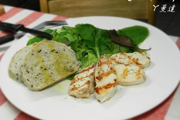 鸡肉轻食沙拉的做法