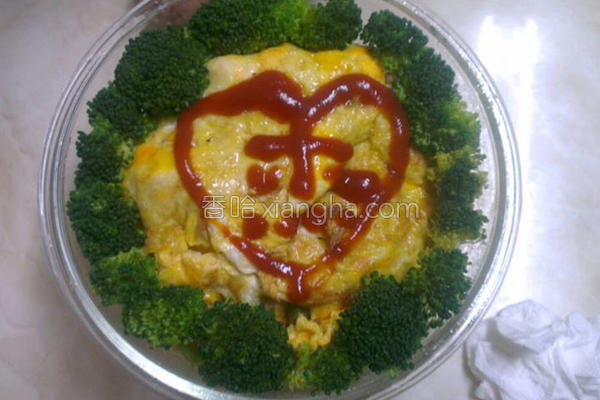 蔬食蛋包饭的做法