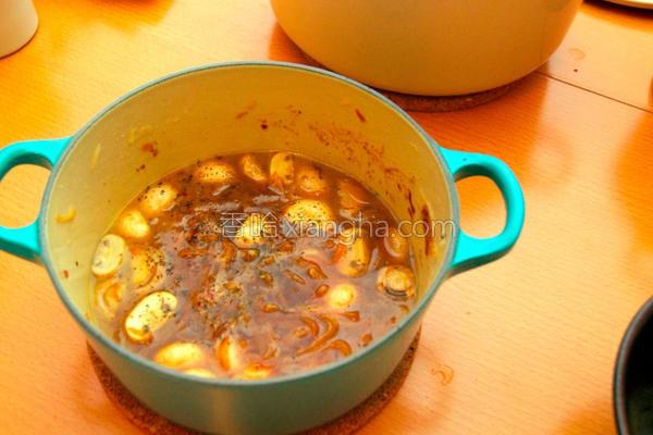 法式洋葱汤炖蘑菇的做法