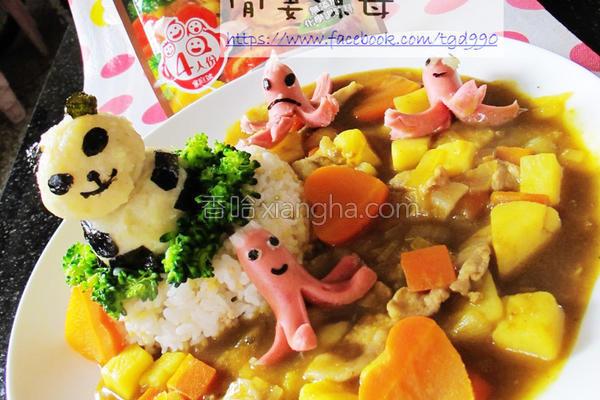 可果美咖哩锅高汤的做法