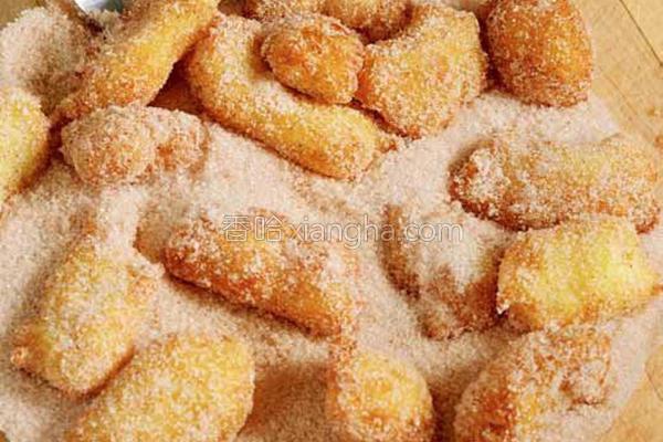 苹果肉桂甜甜圈的做法