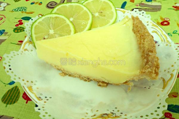 柠檬牛奶派的做法