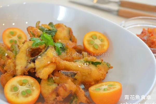 泡菜鲭鱼天妇罗的做法