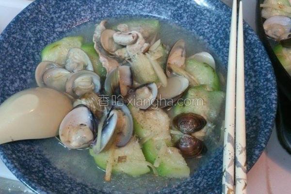蛤蛎丝瓜冬粉的做法