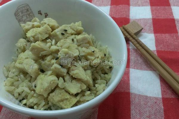 天贝糙米饭的做法