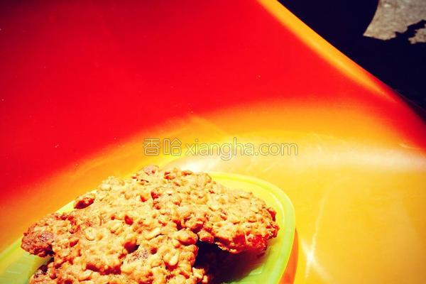 黄金燕麦坚果饼干的做法