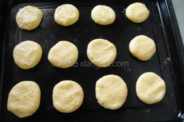 松饼饼干的做法