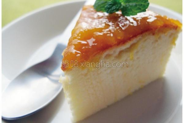 鲜芒轻乳酪蛋糕的做法