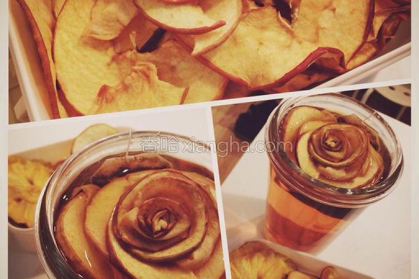 苹果玫瑰的做法