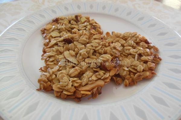 燕麦脆片的做法