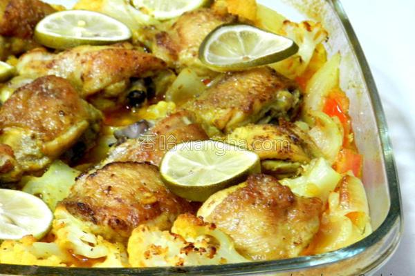 摩洛哥式鸡腿炖菜的做法