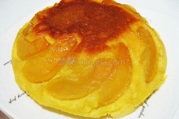 焦糖苹果蛋糕的做法