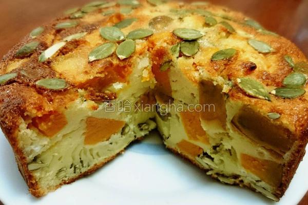 南瓜布丁蛋糕的做法
