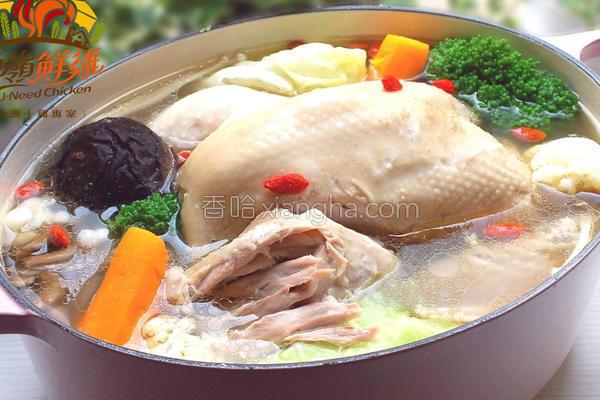 鲜菇时蔬炖鸡的做法