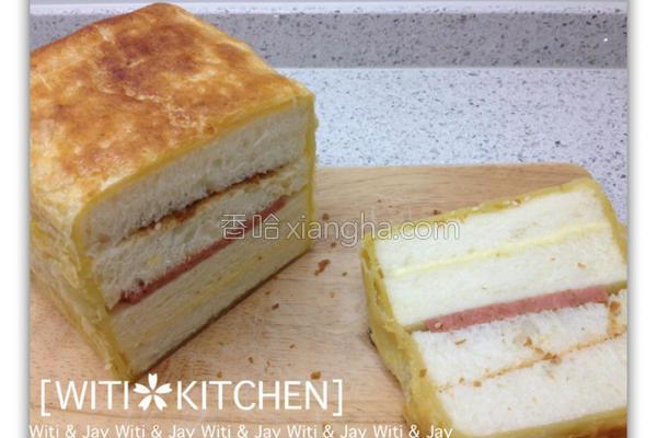 酥皮三明治的做法