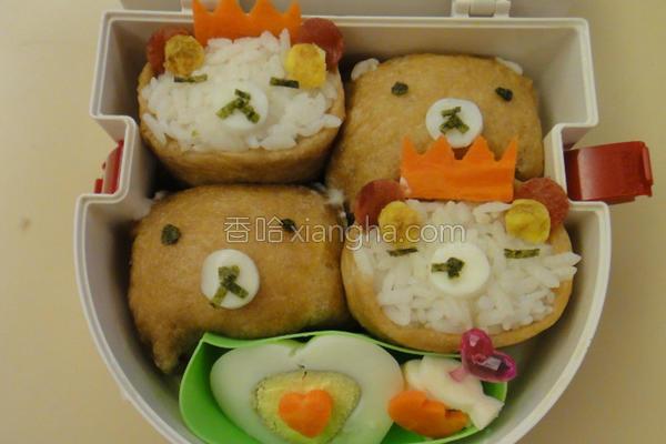 拉拉熊寿司的做法