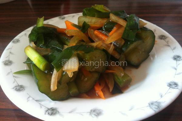 韩式腌小黄瓜泡菜的做法