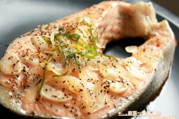 12分钟煎鲑鱼的做法