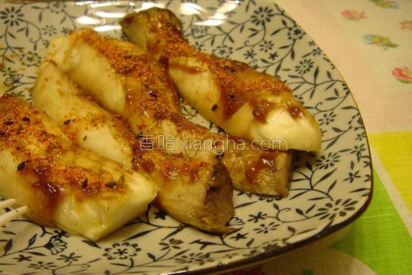 七味酱烤杏鲍菇的做法