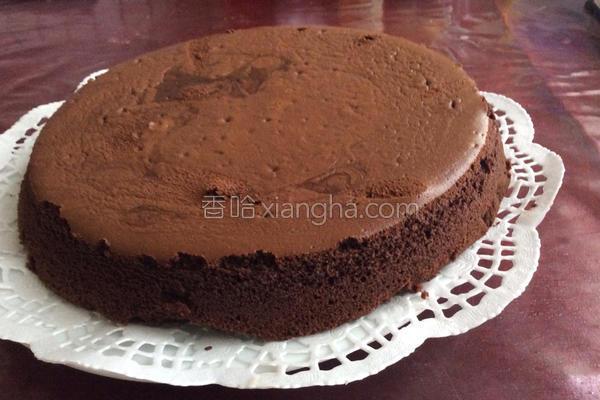 巧克力摩卡蛋糕的做法
