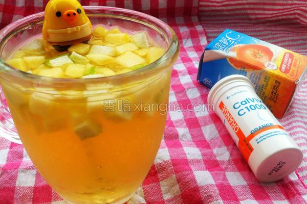 CC水果饮的做法