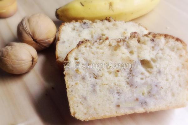 核桃香蕉蛋糕的做法