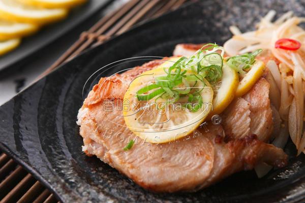 柠檬椒盐松板猪的做法