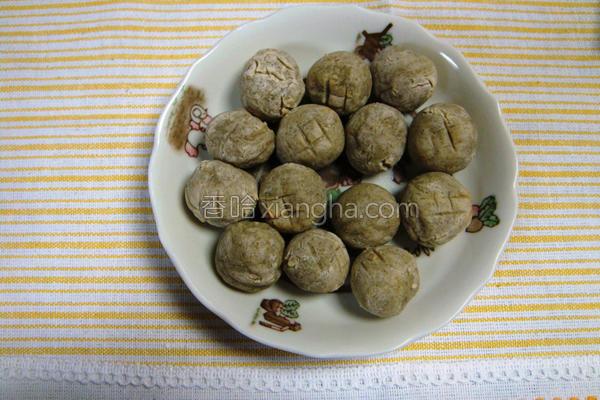 芋头番薯球的做法