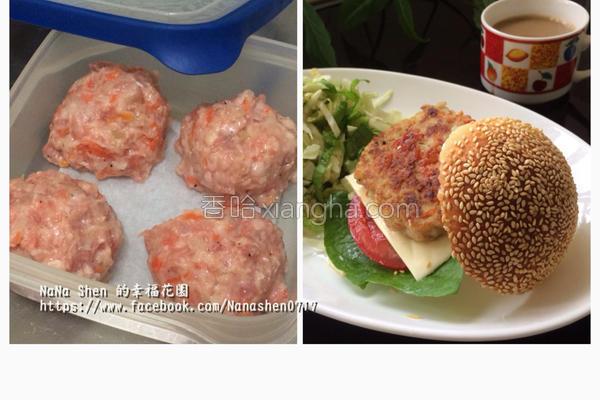 汉堡肉排的做法