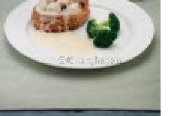 蘑菇酥饼的做法