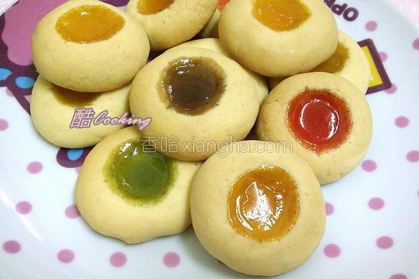 彩色宝石饼干的做法