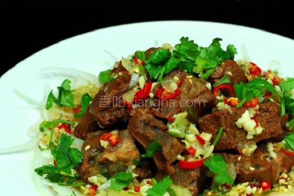 泰式牛肉的做法