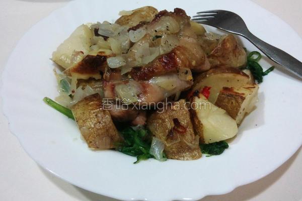 马铃薯烤鸡的做法