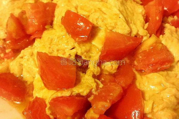 古早味番茄炒蛋的做法