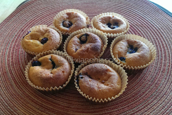 低脂地瓜蓝莓蛋糕的做法