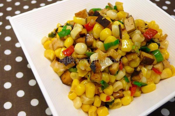 经典辣椒炒玉米的做法