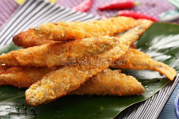 黄金柳叶鱼的做法