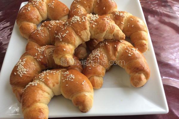 金牛角面包的做法