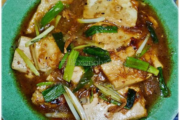 蒜香鱼豆腐的做法